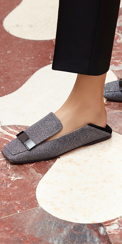 Ballet flats and loafers